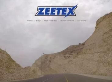 Zeetex refreshes website