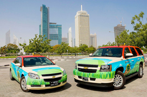 Dubai to convert half its taxis to hybrid by 2021