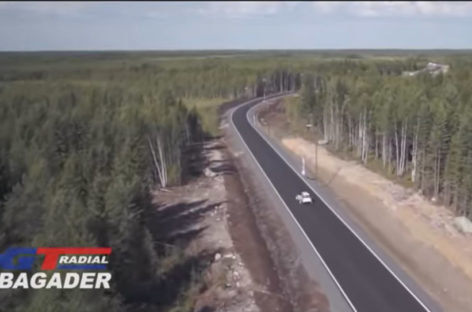 GT Radials take on the scenic journey across Finland