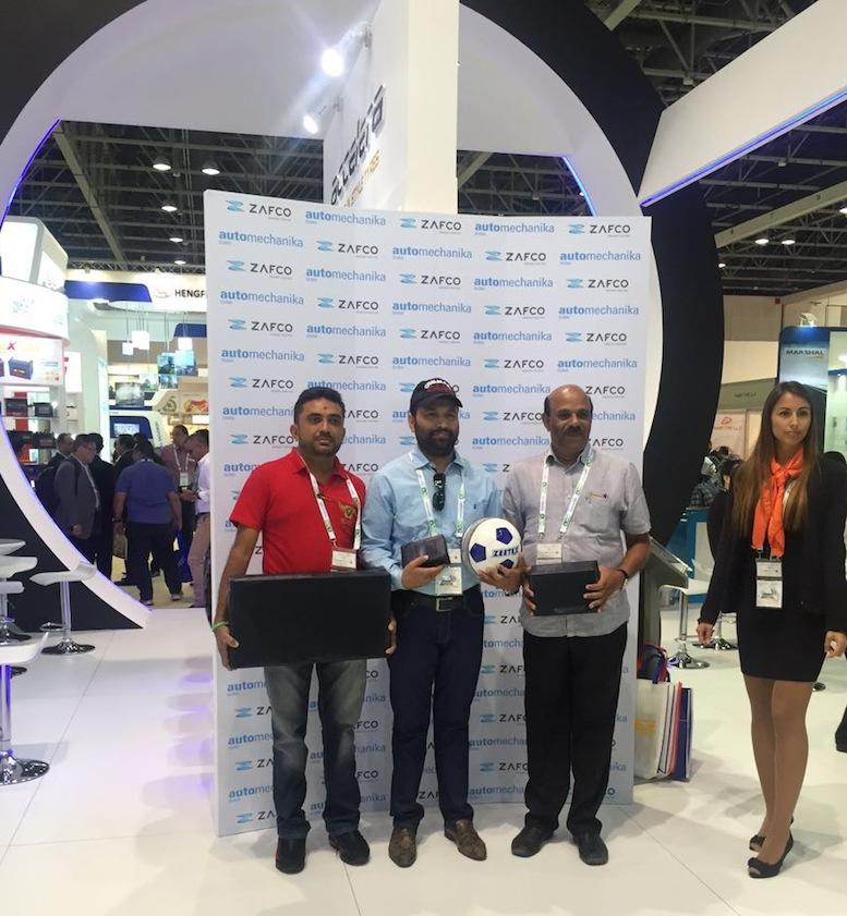 ZAFCO Brings Value At Automechanika Dubai