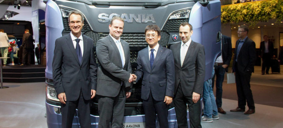 Hankook to become Original Equipment Supplier for Scania