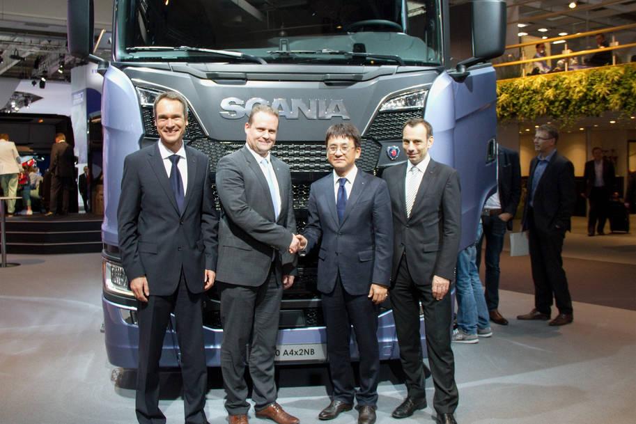 Hankook Tyres Scania
